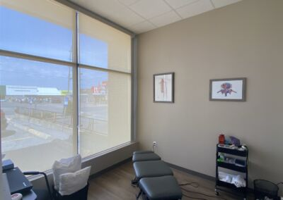 Front Chiropractic Treatment Room