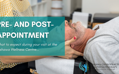 Pre and Post-Appointment Procedures at Oshawa Chiropractic & Physiotherapy Wellness Centre